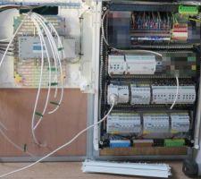 Pose et raccordement SAT et sorties vers utilisateurs sur le switch. Tableau B du 1er étage