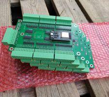 Cartes ESP32 64 entrées pour l'alarme et la domotique