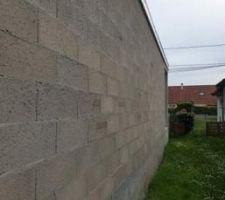 Murs limite terrain coter voisin