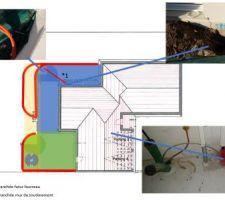 Débouchage et pose câble électrique 5 conducteurs 2.5mm U1000R2V