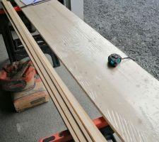 Réalisation d'un petit meuble