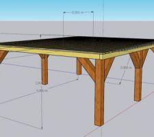 Plancher cabane 1