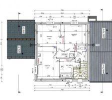 Plans d'exécution : Etage