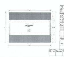 Plan des combles dans la dernière version du permis de construire