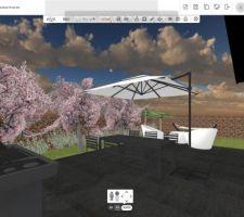 Terrasse + jardin kozikaza