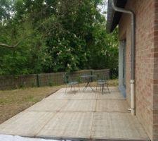 Terrasse meleze