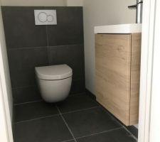 WC suspendu RDC