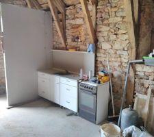 Coin cuisine  + wc grange