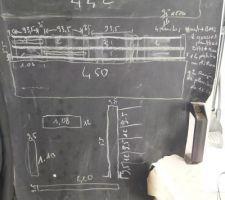 Plan pour la fabrication de claustras sur un muret existant ( séparation visuel entre les voisins et nous )