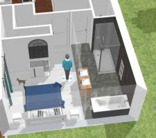 Modélisation de la chambre et de la SDB