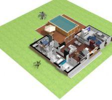 Modélisation de la maison