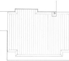 Terrasse sud : le projet