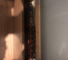 Caisson pour accéder au nourrisses de plancher chauffant