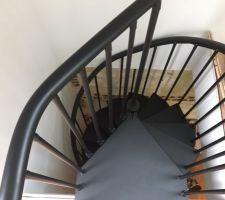 Escalier colimaçon du