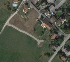Terrain Artis commune de Trossy Vue aérienne