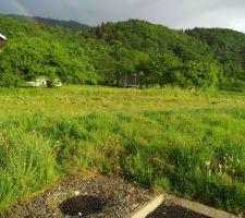 Terrain Artis commune de Trossy Vue du sol