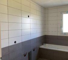 Carrelage et faience salle de bain