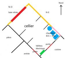 Plan cellier