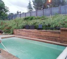 Mise en service de la piscine !!