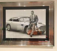 Tableau James Bond acheté chez Peyroles à Haguenau