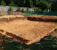 Terrassement vide sanitaire et fondations