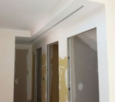 Plafond couloir bas
