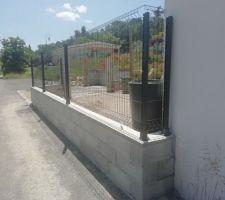 Poursuite de la clôture