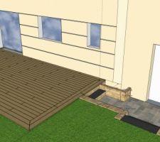 Projet terrasse