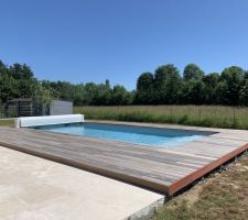 Construction piscine 9x4m
