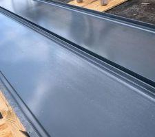 Panneaux de bac acier à joints debout