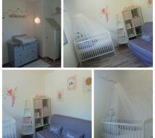 La chambre de notre princesse enfin prête