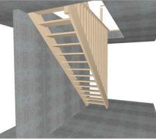 Plan escalier