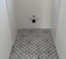 Nos wc sont terminés.