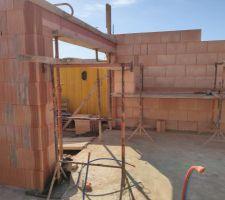 Prorotherm + briques Vandersanden moulées main Future garage