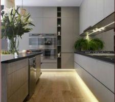 Idée de cuisine avec le sol qu'on aime bien :)