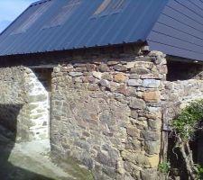 Remontage mur remise
