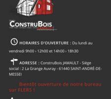 Contact constructeur maison ossature bois dans l'Orne