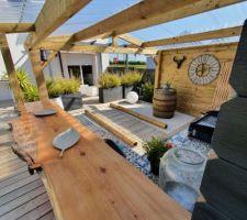 Abri de jardin Cuisine extérieure
