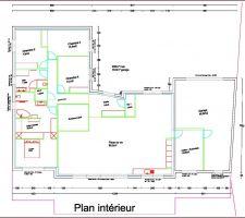 Plan de la future maison.