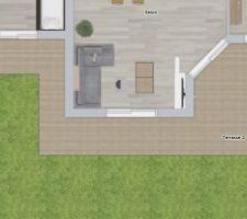 Terrasse - Plan