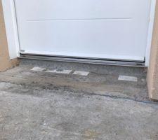 Préparation terrasse avant carrelage