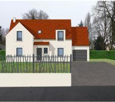 Perspective de la maison