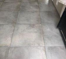 60X60 Corus gris rectifié Maison Bonte  Entrée