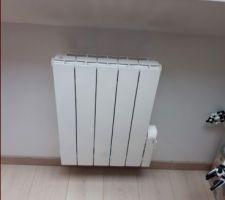 J'ai décider de changer les radiateurs fluide des enfants par des plus performants