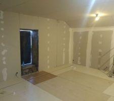 Le dortoir de 35 m2
