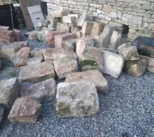 Stock de pierre pour les jambages