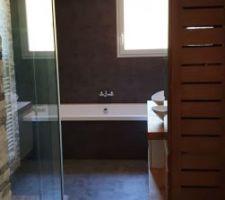 La salle de bain est terminée !