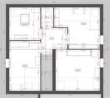 Idée de plan de l'étage 1