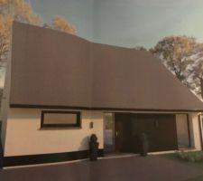 Maison toiture «fermette»