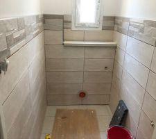 Faïence wc du bas terminee
